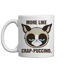 A Grumpy Cat Cappuccino