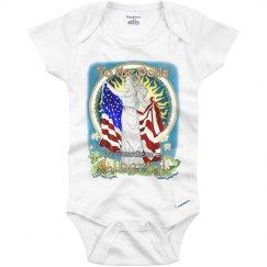 MOUSIE Liberty- Infant Onesies