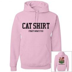 Cat Shirt - Hoodie