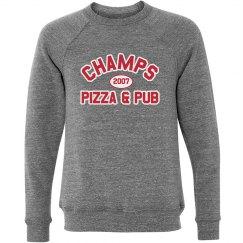 Champs 3 - Grey, Red & White sweatshirt