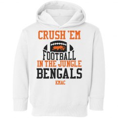 Crush em in jungle hoodie