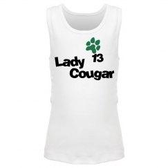 Lady Cougar w/ Paw