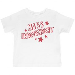 Miss Independence Day Toddler