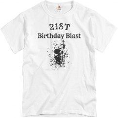21st birthday blast