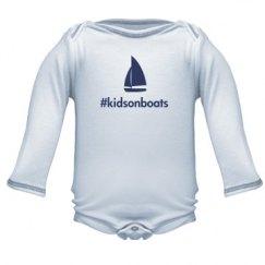kidsonboats, infant blue