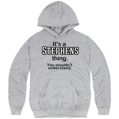 Its a Stephens thing
