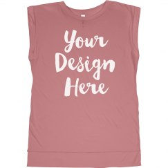 Custom Fashion Workout Muscle Tank