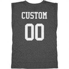 Custom Back Print Workout Tank