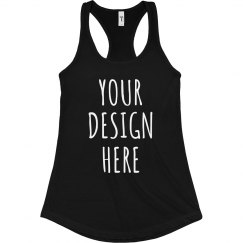 Custom Fitness Tanks Add Text