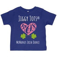 Toddler: Jiggy Tots- 5,6,7,8 tee