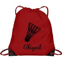 Abigail. Badminton