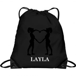 Layla cheer bag