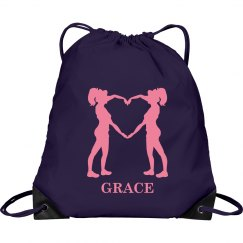 Grace cheer bag