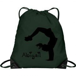 Abigail cheerleader bag