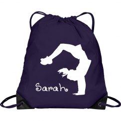 Sarah cheerleader bag
