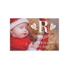 Family Christmas Rug