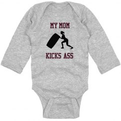 TEAM FIT INFANT LONG SLEEVE ONSIE