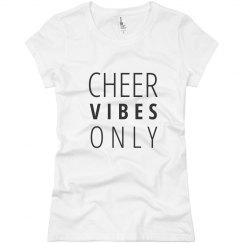 Cheer Vibes junior tee