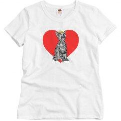 Kitty Heart Woman's