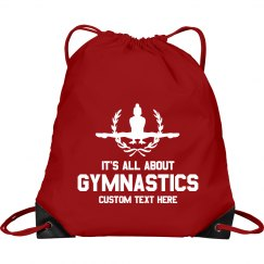 Gymnastic Custom Drawstring Bag