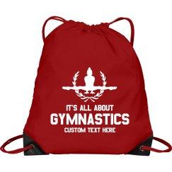 Gymnastic Custom Drawstring Bag