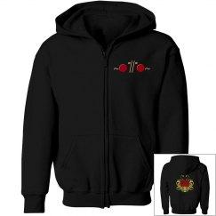 Noodlitude youth zip hoodie