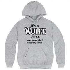 Its a Wolfe thing