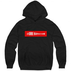More Elevation black Hoody