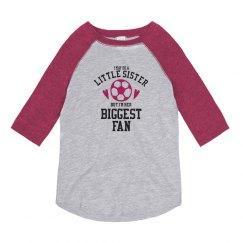 Little Sister Soccer Fan