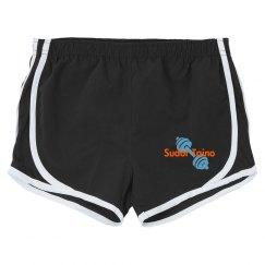 ST Zebra Running shorts