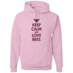 Keep calm love bees