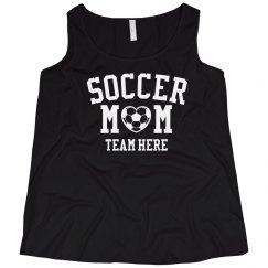 Customizable Soccer Mom Plus Tank