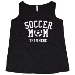 Customizable Soccer Mom Plus Tank