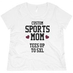 Custom Sports Mom Tee