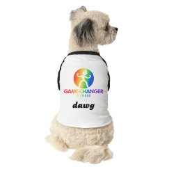 Dog Tee Rainbow Dawg