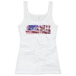 Ladies DB American Pride Tank