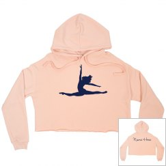 Custom Dance Crop Sweatshirt