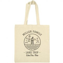 Family Lake Trip Tote