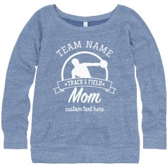 Custom Team Track & Field Mom