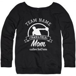 Custom Team Track & Field Mom