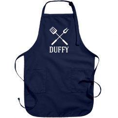 Duffy personalized apron