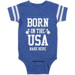 Custom Name Born in the USA