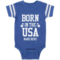 Custom Name Born in the USA
