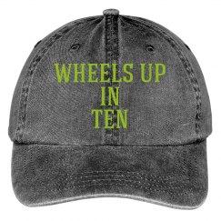 WHEELS UP HAT
