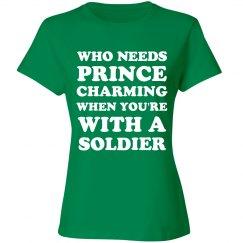 No Princes I've Got A Soldier