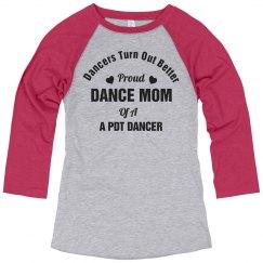 Proud Dance Mom Jersey Shirt