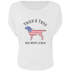 Tried & True Lab Slouch Tee