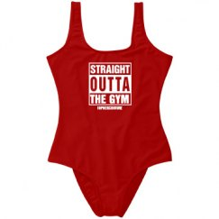 Straight Outta The Gym Onesie
