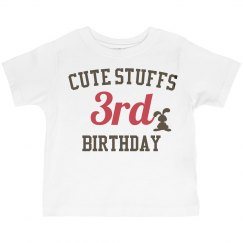 Cute stuffs 3rd birthday