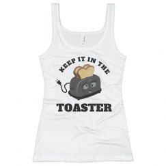 Keep It In The Toaster Color Guard Tank Top For Summer